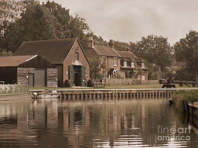 Photograph - The Lock Keeper's Cottage by Terri Waters