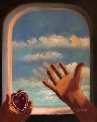 Painting - The Locket by Randy Burns