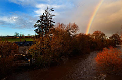 Rainbow River Photograph - The Locks At Rathvinden That Enables by Panoramic Images