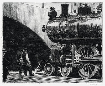The Locomotive Art Print