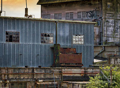 Photograph - The Loleta Creamery 3 by Mitch Shindelbower