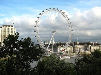 Photograph - The London Eye by Diane Height
