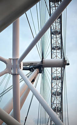 Photograph - The London Eye by Martin Howard