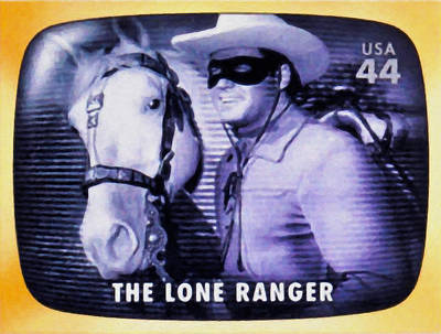 Lone Ranger Painting - The Lone Ranger by Lanjee Chee