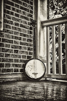 The Lonely Banjo Print by Bill Cannon
