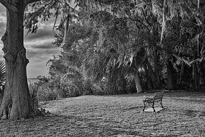 Photograph - The Lonely Bench by Roberto Aloi