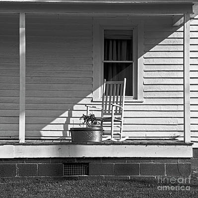 Photograph - The Lonely Porch by Patrick M Lynch