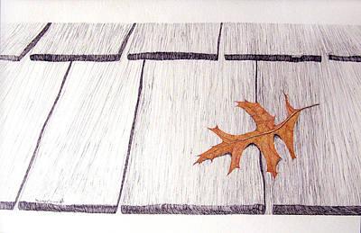 The Loner Art Print by A  Robert Malcom