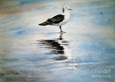Painting - The Loner by Rebecca Davis