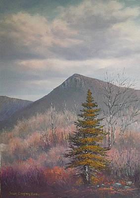 The Lonesome Pine Art Print by Sean Conlon