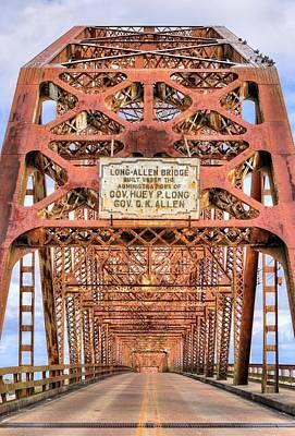 The Long-allen Bridge Art Print by JC Findley