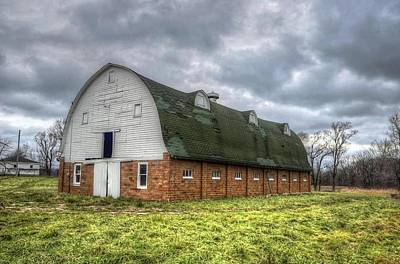 Photograph - The Long Barn by Jeffrey Platt