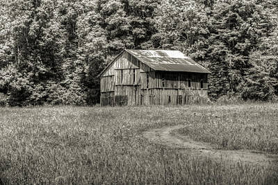 Photograph - The Long Curved Path To The Barn by Douglas Barnett