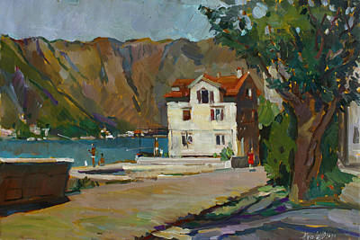Montenegro Painting - The Long Hot Day. Sold by Juliya Zhukova