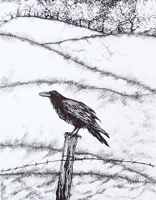 The Long Long Winter Art Print by Anna  Duyunova