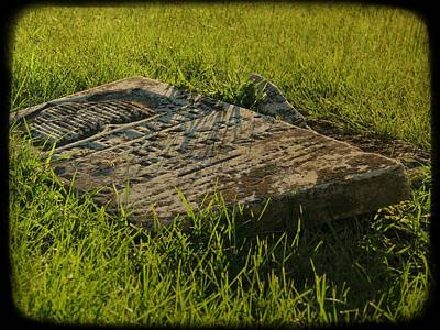 Photograph - The Long Lost Grave by Kyle West