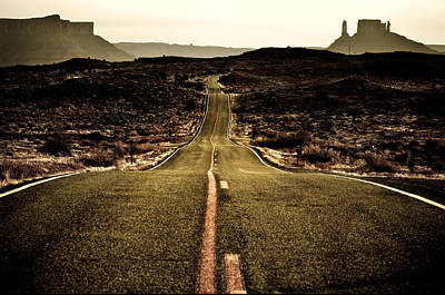 Photograph - The Long Road by Marilyn Hunt