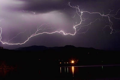 Lightning Images Photograph - The Long Strike by James BO  Insogna