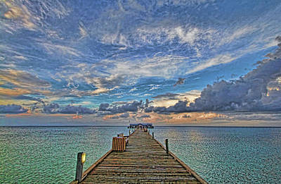 Photograph - The Long Walk 2 by HH Photography of Florida