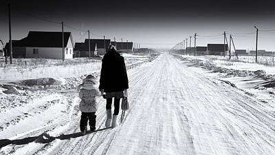 Photograph - The Long Walk Home by John Williams