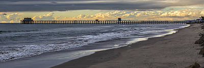 Oceanside Pier Photograph - The Long Walk by Peter Tellone