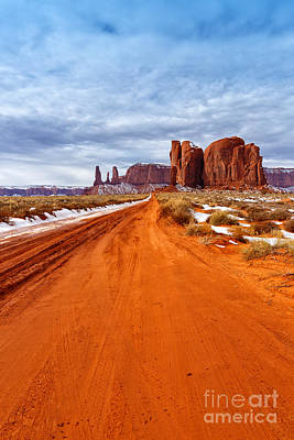 Photograph - The Long Way by Beve Brown-Clark Photography