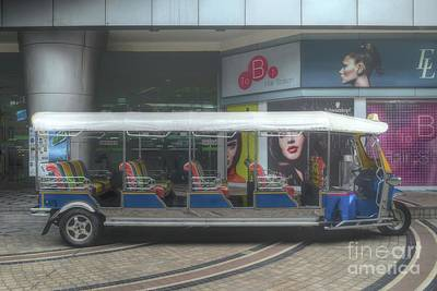 Photograph - the longest tuk tuk in Bangkok by Michelle Meenawong