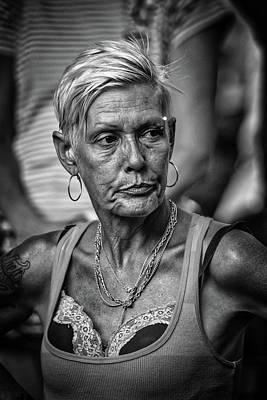 Photograph - The Look by John Haldane