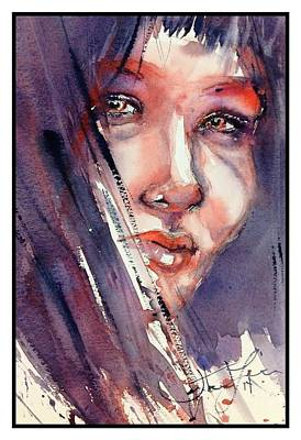 Painting - The Look by Judith Levins