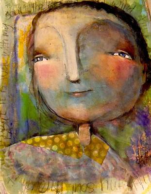 Drawing - The Look Of Hope by Eleatta Diver