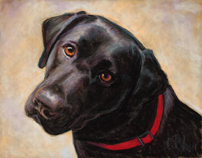 The Look Of Love Print by Billie Colson