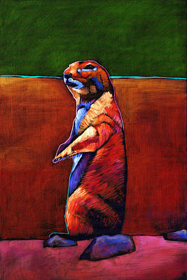 Songbird Painting - The Lookout by Johnathan Harris