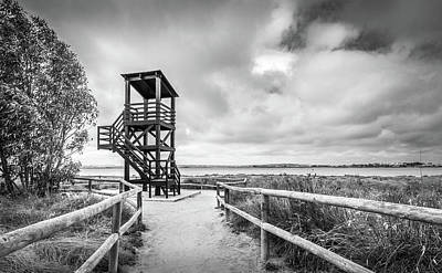 Photograph - The Lookout Tower by Gary Gillette