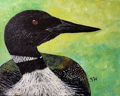 Painting - The Loon by Sheri Doyon