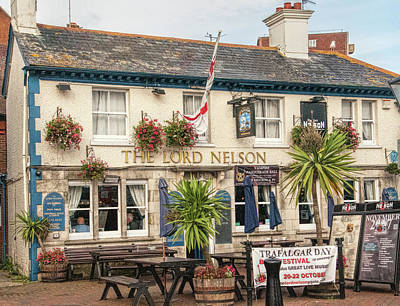 Photograph - The Lord Nelson Pub by Phyllis Taylor
