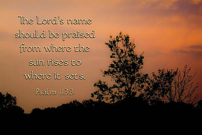 Photograph - The Lord's Name by Gwen Vann-Horn