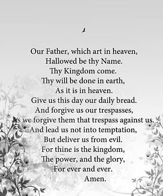 The Lord's Prayer Art Print