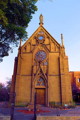 Miraculous Photograph - The Loretto Chapel by Jeff Swan