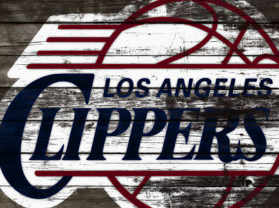 The Los Angeles Clippers 3a Art Print by Brian Reaves