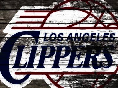 The Los Angeles Clippers 3b Art Print by Brian Reaves