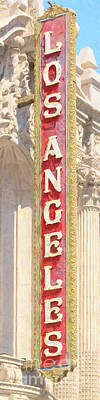 Photograph - The Los Angeles Theatre 20180428 V2 by Wingsdomain Art and Photography
