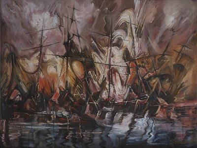 The Lost Armada IIi Art Print