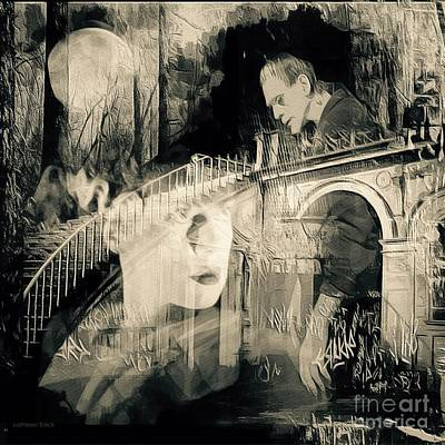 Montage Mixed Media - The Lost Bride 2 by Cathleen Edick