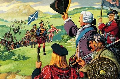 Tartan Painting - The Lost Cause Of Bonnie Prince Charlie by Pat Nicolle