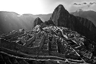 Photograph - The Lost City Of The Incas by John Bartosik