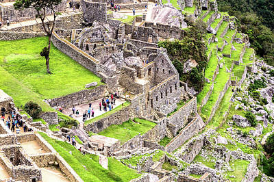 Photograph - The Lost Incan City by Rene Triay Photography