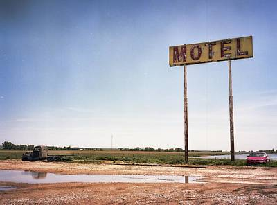 Photograph - The Lost Motel by HW Kateley