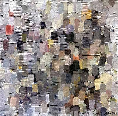 Digital Art - The Lost Pattern by Rein Nomm