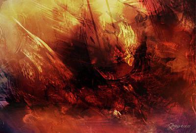 The Lost Ship Art Print by Stefano Popovski