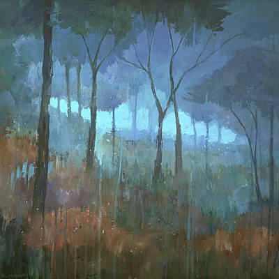 Painting - The Lost Trail by Steve Mitchell